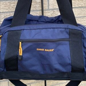 Eddie Bauer duffle bag in navy